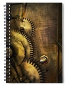 Steampunk - Toothy  Spiral Notebook