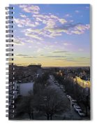 Sunset Row Homes Spiral Notebook