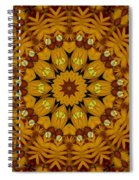 Popart Flowers Spiral Notebook