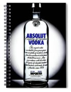 Absolut Vodka Spiral Notebook