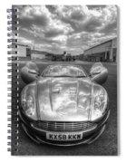 Aston Martin Dbs Spiral Notebook