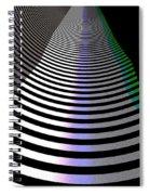B-wmazezoom3 Spiral Notebook