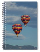 Balloons Over The Rockies Spiral Notebook