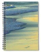 Beach Biker Spiral Notebook