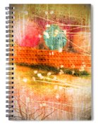 Branches And Brush Strokes Spiral Notebook