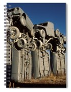 Carhenge In The Afternoon Spiral Notebook