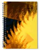Change - Leaf12 Spiral Notebook