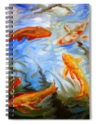 Fish Reflections Spiral Notebook