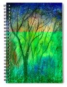 Forest Fire Spiral Notebook