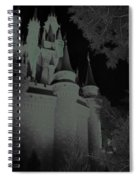 Haunted Castle Spiral Notebook