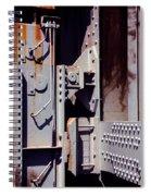 Industrial Background Spiral Notebook