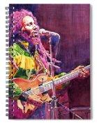 Jammin - Bob Marley Spiral Notebook
