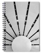 Light Bursts Spiral Notebook