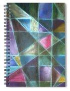 Light Patterns 2 Spiral Notebook