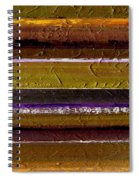 Lined Up Spiral Notebook