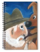 Mans Best Mate Spiral Notebook