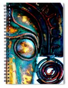 Masked Spiral Notebook