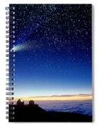 Mauna Kea Telescopes Spiral Notebook