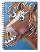 Mr Horse Spiral Notebook