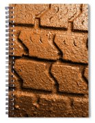 Muddy Tire Spiral Notebook
