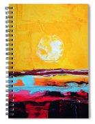 My Space Spiral Notebook