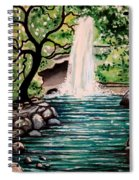 Mystical Waterfall Spiral Notebook
