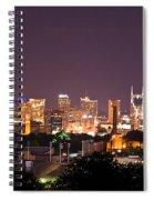 Nashville Cityscape 3 Spiral Notebook