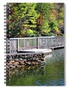 Peaceful Pier Spiral Notebook