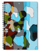 Puddlesponge Spiral Notebook