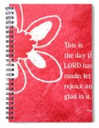Rejoice Spiral Notebook