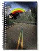 Road To Darkness Spiral Notebook