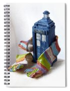 Tardis Ll Spiral Notebook