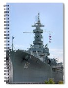 Uss Alabama Spiral Notebook