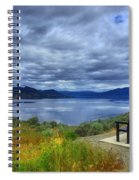 View From A Bench Spiral Notebook