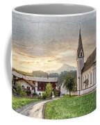 Country Church Coffee Mug by Debra and Dave Vanderlaan