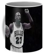 Michael Air Jordan Coffee Mug by Florian Rodarte