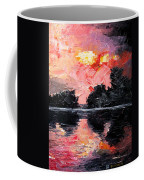 Sunset. After Storm. Coffee Mug
