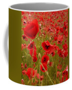 Red Poppies 4 Coffee Mug