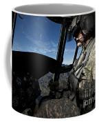 Co-pilot Flying A Ch-47 Chinook Coffee Mug
