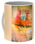 Branches And Brush Strokes Coffee Mug