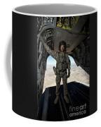 Ch-47 Chinook Crew Chief Stands Coffee Mug