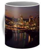 City Of Austin At Dusk Coffee Mug