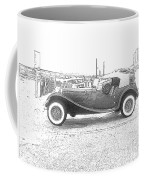 Convertible Antique Car Coffee Mug