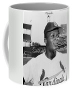 Curt Flood (1938- ) Coffee Mug