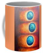 Floating Spheres Coffee Mug