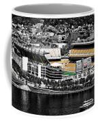 Heinz Field Coffee Mug by Scott Wyatt