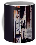 Industrial Background Coffee Mug by Carlos Caetano