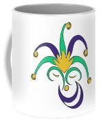 Mardi Gras Jester Coffee Mug