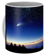 Mauna Kea Telescopes Coffee Mug by D Nunuk and Photo Researchers