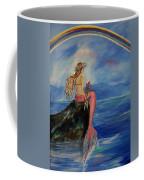 Mermaid Rainbow Wishes Coffee Mug